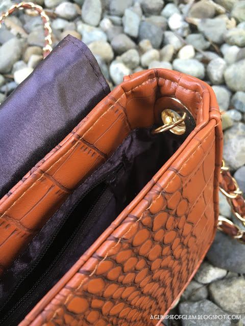 Crocodile Purse from Banggood - Andrea Tiffany A Glimpse of Glam