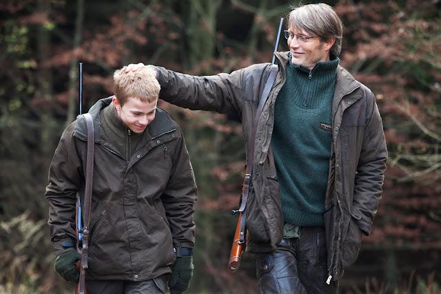 der cineast Filmblog Die Jagd Lukas mit seinem Sohn Markus