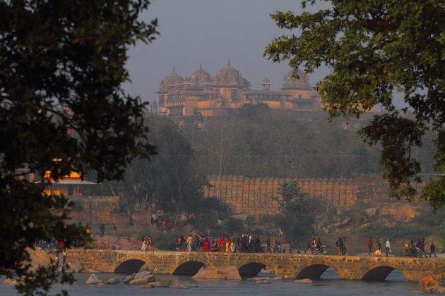 Hidden Orchha by the Betwa river, Madhya Pradesh