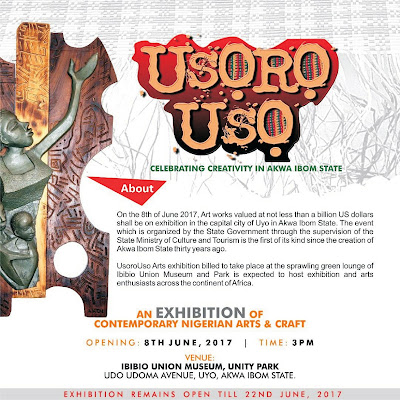 Usoro Uso: An exhibition of contemporary Nigerian Arts commences June 8 in Uyo