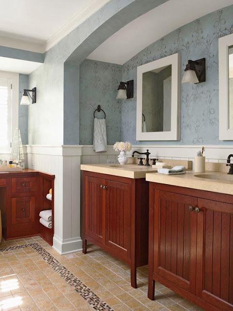 พื้นห้องน้ำ Tradition bathroom