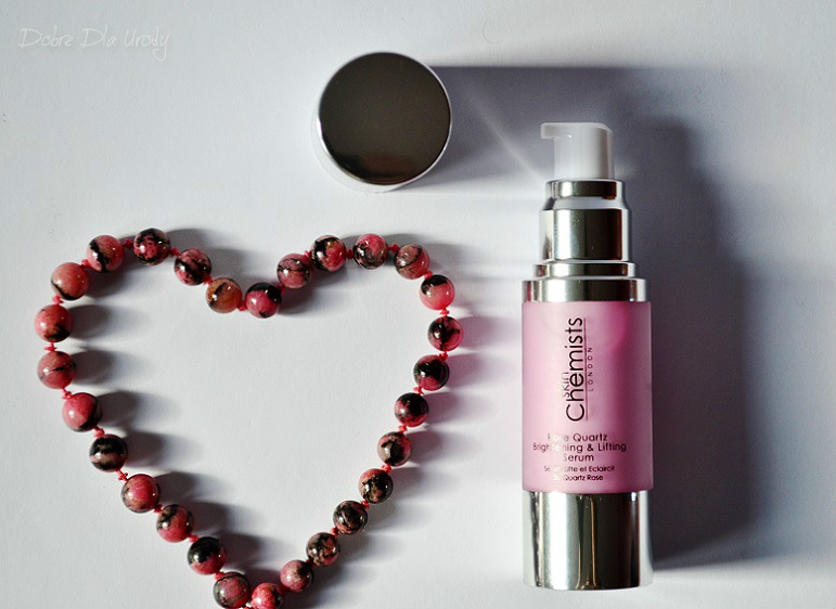 SkinChemists Rose Quartz Brightening & Lifting Serum
