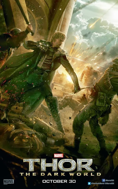 Fandral Thor Dark World poster