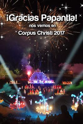feria de corpus christi papantla 2017