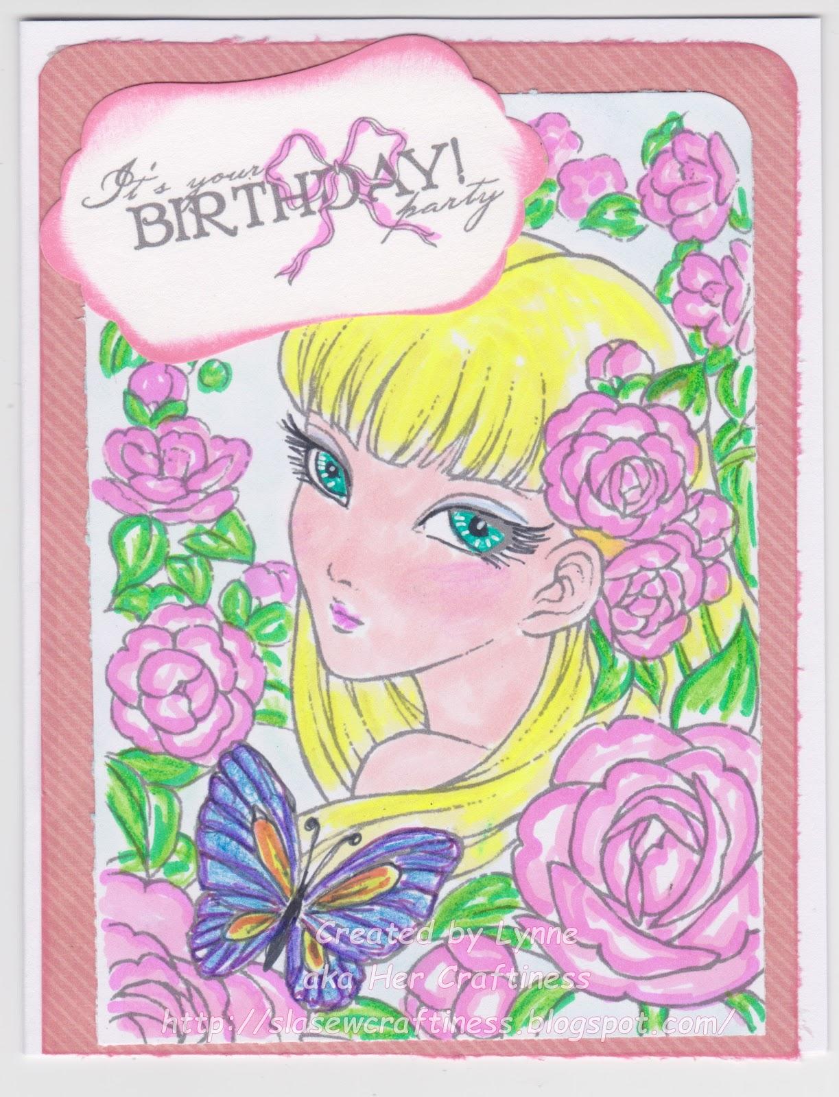 Her Craftiness Happy Birthday Jen
