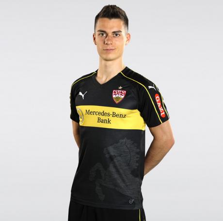 Camisetas centro de Futbol 2018-2019  tercera camiseta VfB Stuttgart ... 3e70c34278203