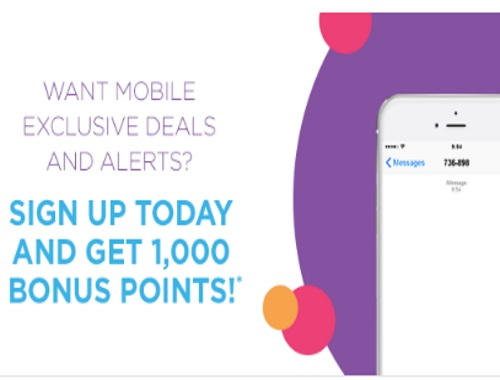 Shoppers Drug Mart Free 1000 Optimum Points Mobile Offers