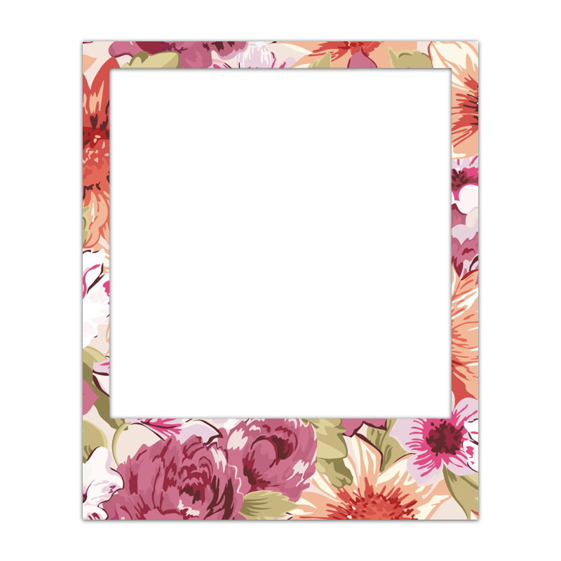 Polaroid Frame Transparent