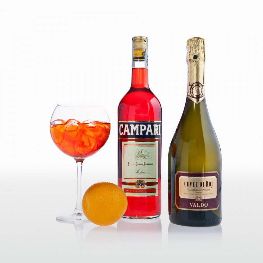 The Campari Mint Spritz Recipe