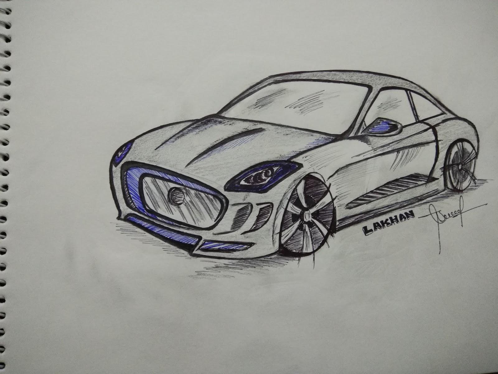 Stuff You Design: car sketches