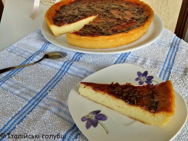 рецепт з маскарпоне чізкейк печений