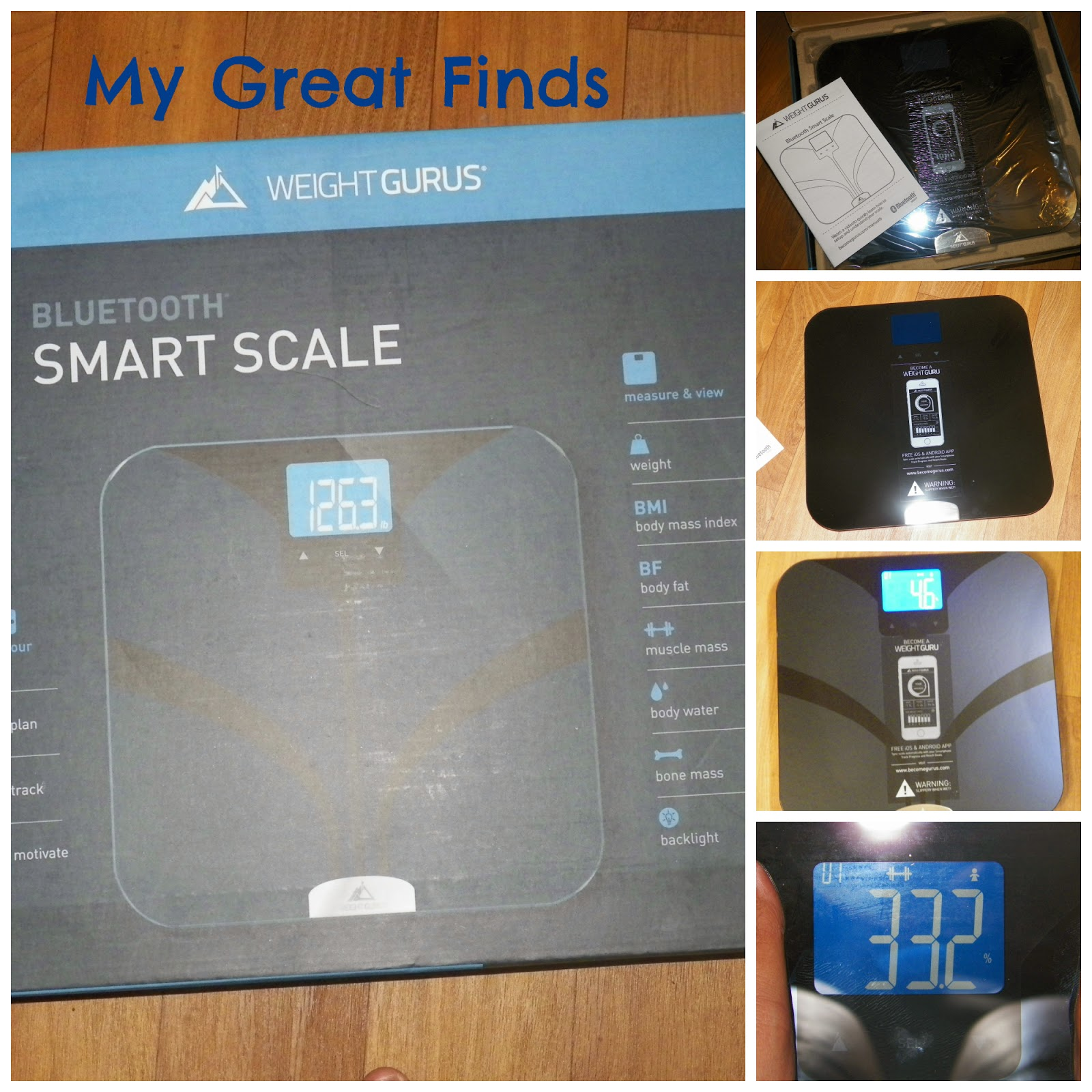 Mygreatfinds Weight Gurus Bluetooth Smart Connected Body Fat Scale By Greater Goods Review