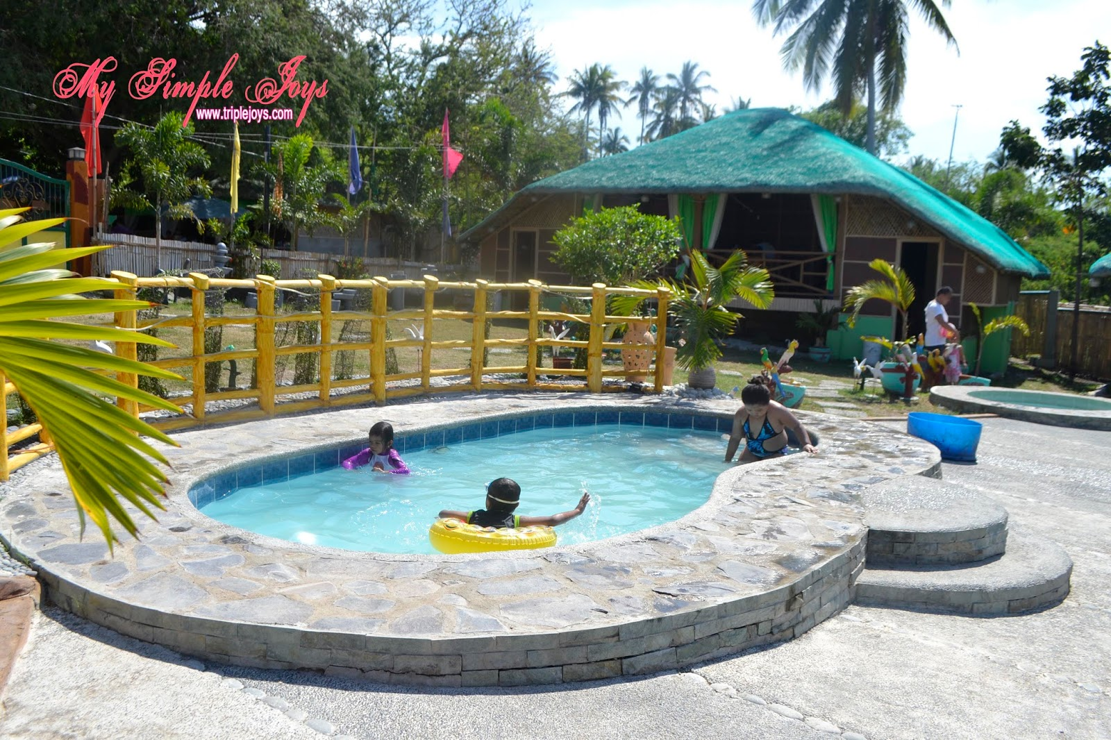 Yu i beach resort in san juan batangas 2nd of our summer outing 2016 series triple joys for Beach with swimming pool in batangas
