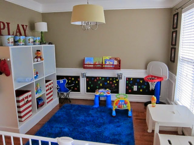 Formal Dining Rooms Turned Playrooms