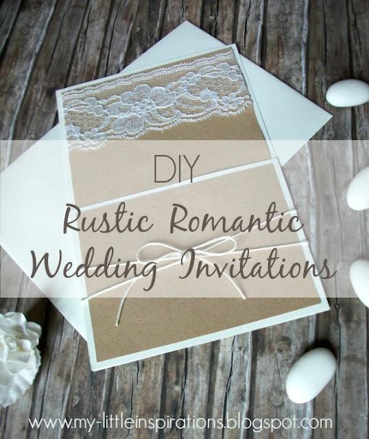 Tutorial Inviti e partecipazioni Matrimonio Rustico Romantico - MLI 1