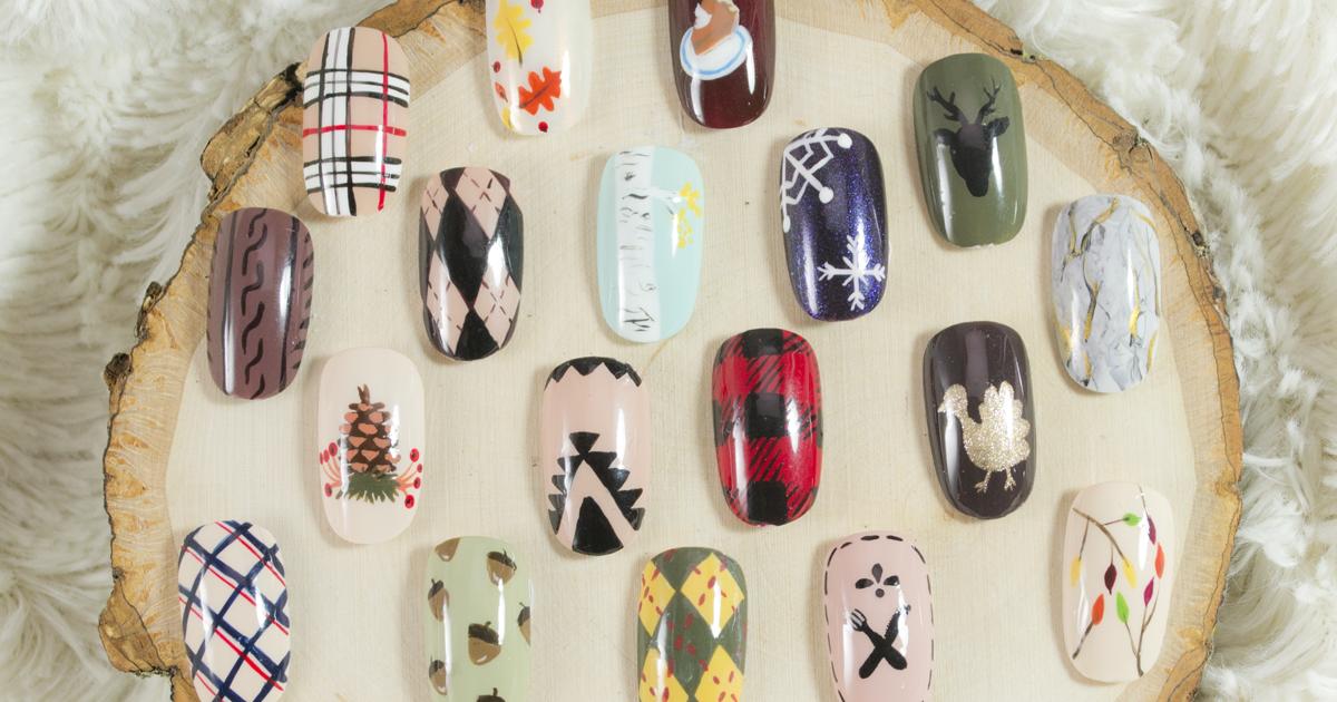 Fall & Thanksgiving Nail Art Samples - Nailed It | The Nail Art Blog