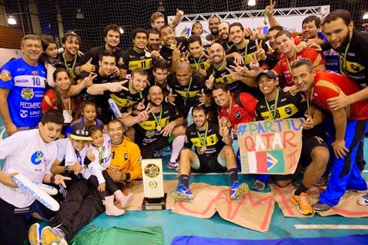 Taubaté bicampeón panamericano: Jugará la Super Globe   Mundo Handball
