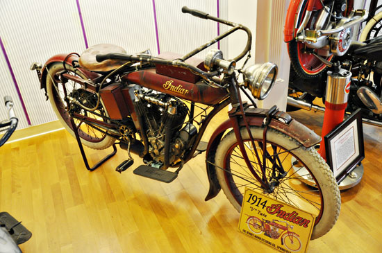 Solvang vintage motorcycle museum Indian by Lady by Choice