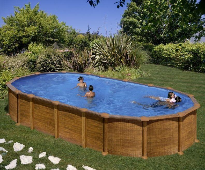 piscina fuori terra in acciaio
