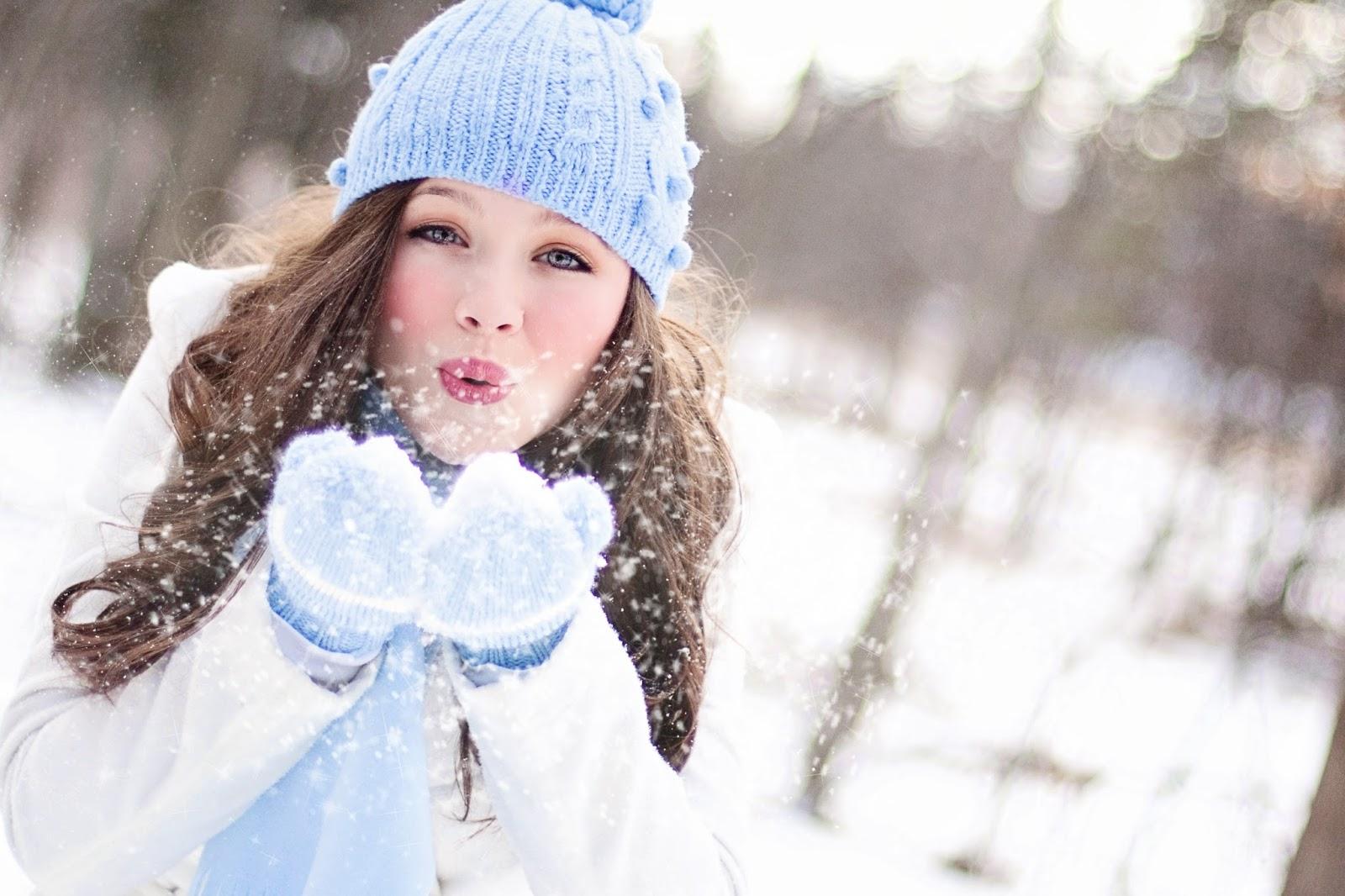 Как фотографировать зимой со снегом портрет