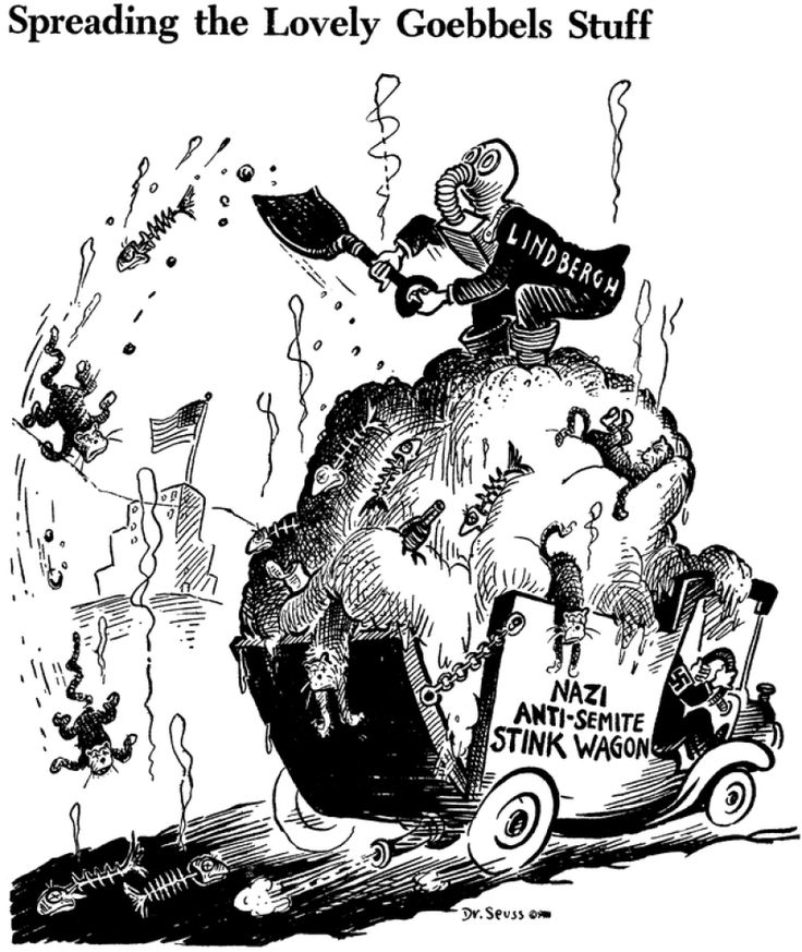 World War II in Pictures: WWII Dr. Seuss Style