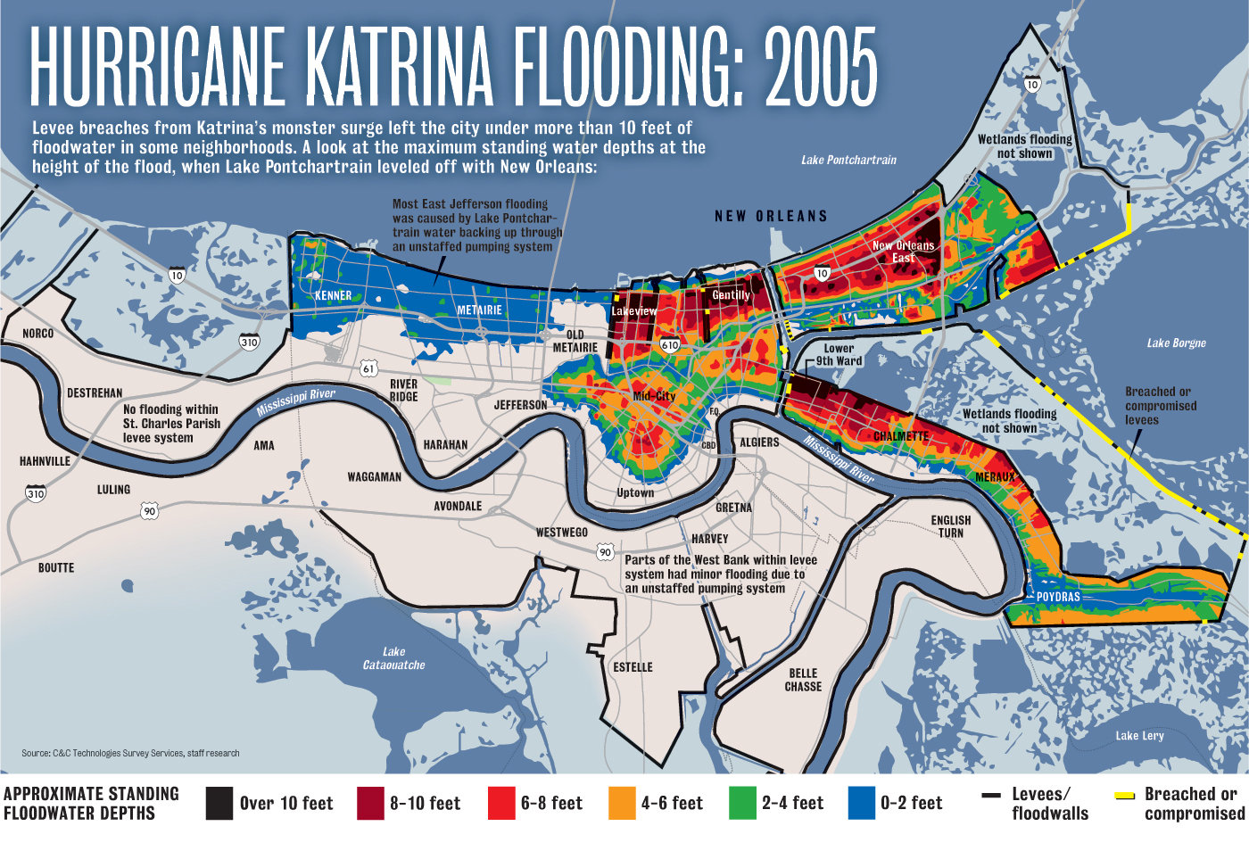 Reflections on Auckland Planning: New Orleans and Katrina