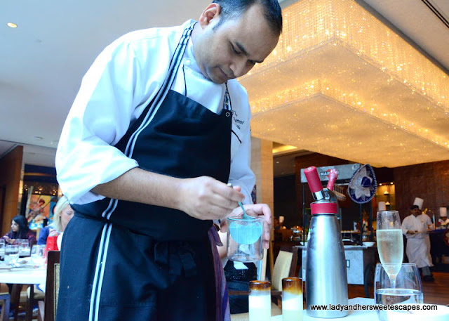Oberoi Street Art Brunch Chef Vishal
