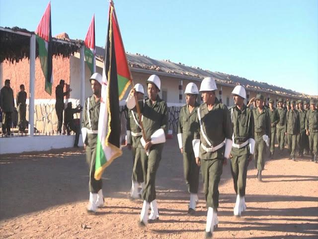 تخرج وحدات أمنية من جيش التحرير الشعبي الصحراوي