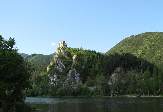 Zamek Strečno.