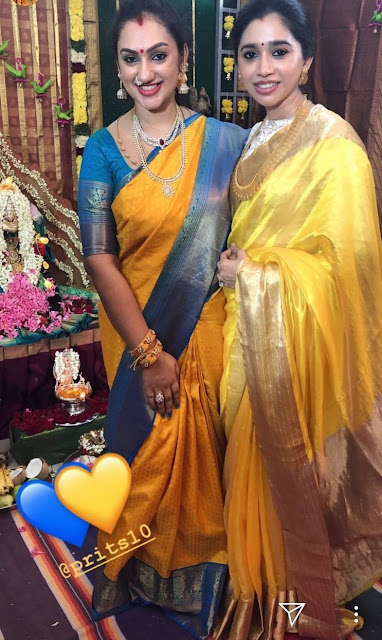 Aarthi Ravi Preeta Vijaykumar Jewellery