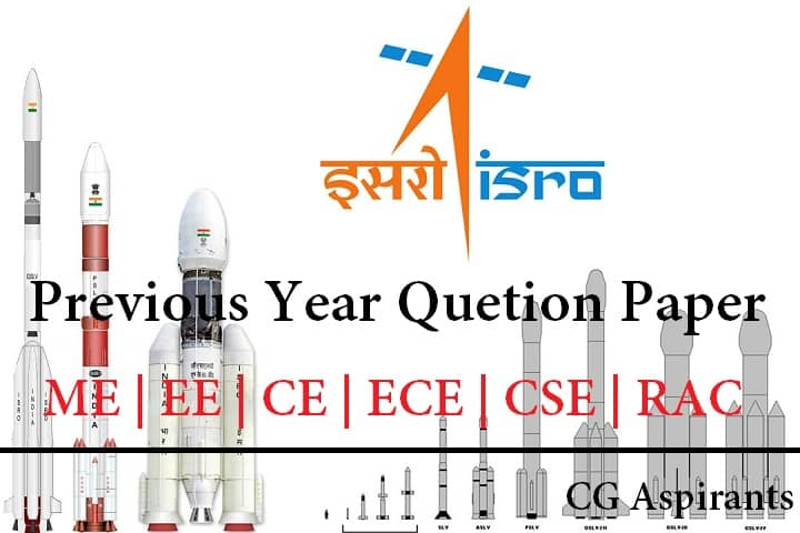 ISRO PREVIOUS YEAR PAPERS