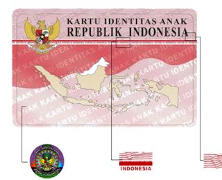 contoh kartu identitas anak