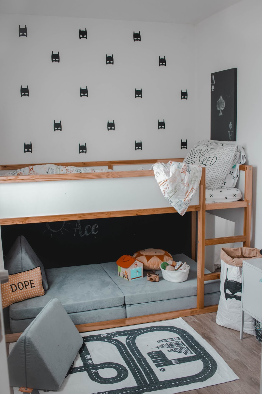 Ace's big-boy room reveal + our Nugget Comfort