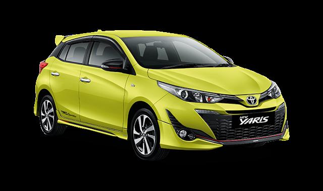 Paket Kredit Toyota All New Yaris Pekanbaru Riau