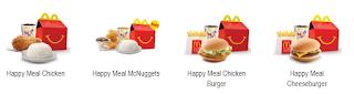 daftar harga menu mcd