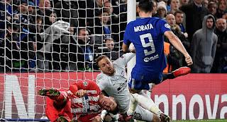 أهداف مباراة تشيلسي وأتليتيكو مدريد في دوري أبطال أوروبا 1-1بالفيديو