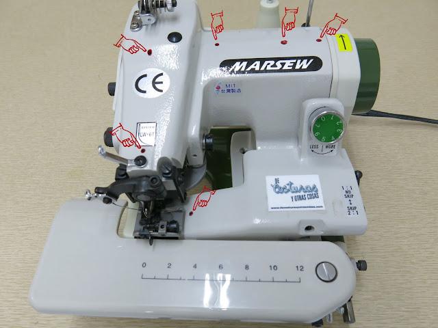 como engrasar la máquina de coser