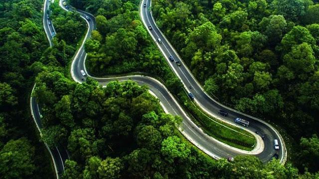 Yuk Mengintip Indahnya Jalan Berliku Menuju Dataran Tinggi Karo