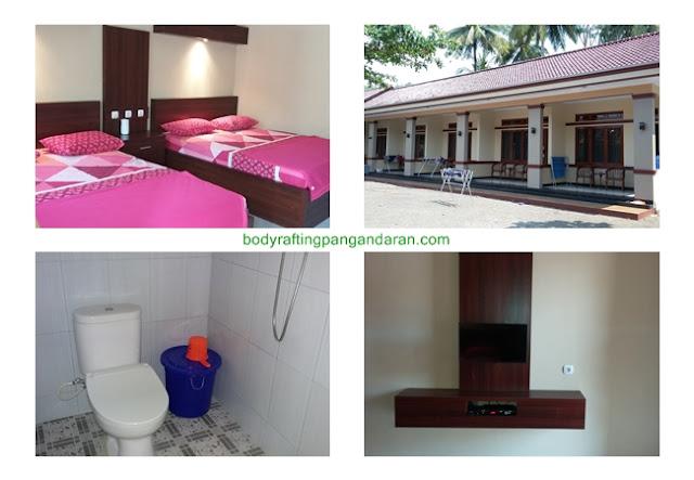 Pilihan Harga Penginapan Room Cottage Pantai Batu Karas
