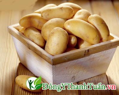 người đau dạ dày nên ăn khoai tây
