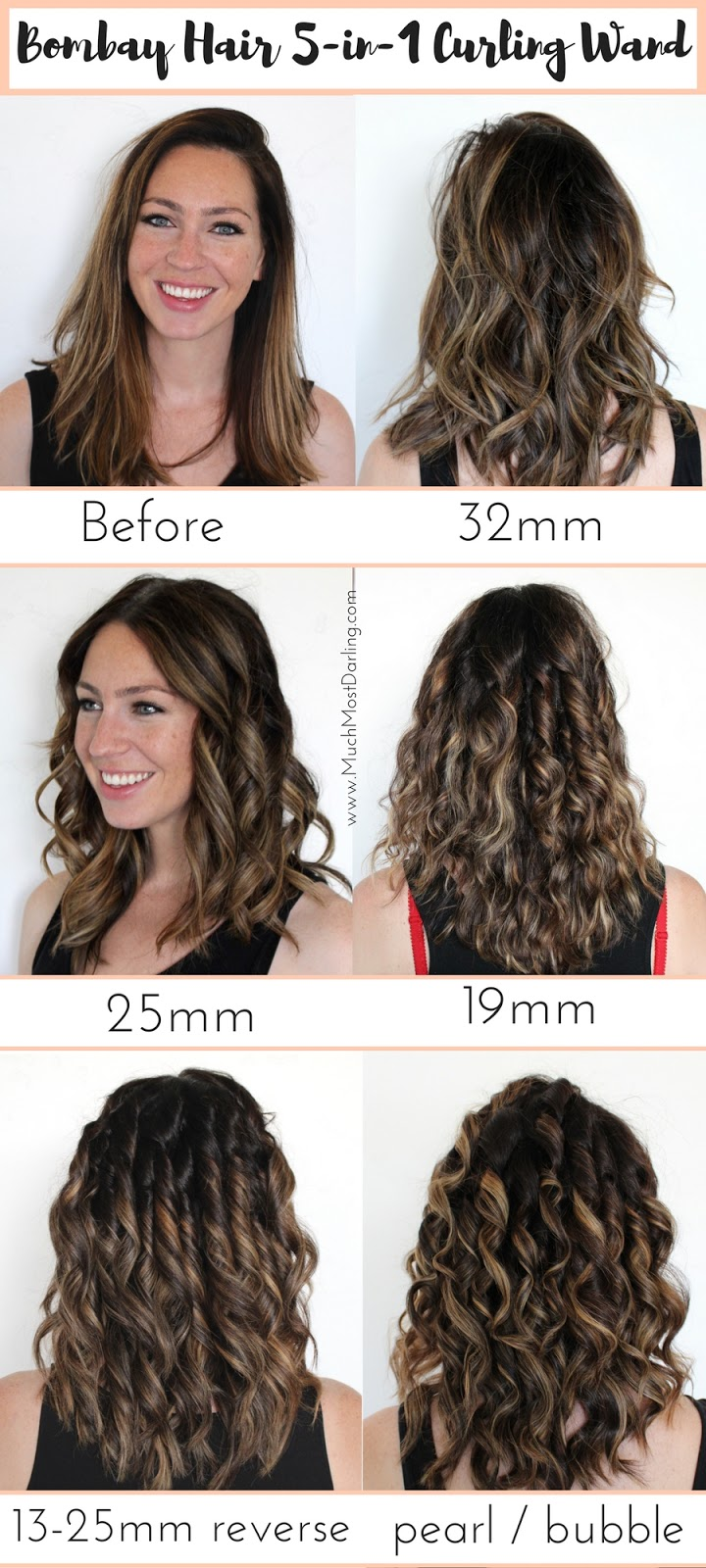 5 In 1 Curling Wand In Depth Blog Post Bombay Hair
