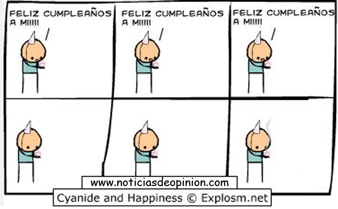 Humor: Cyanide and happiness y Forever alone