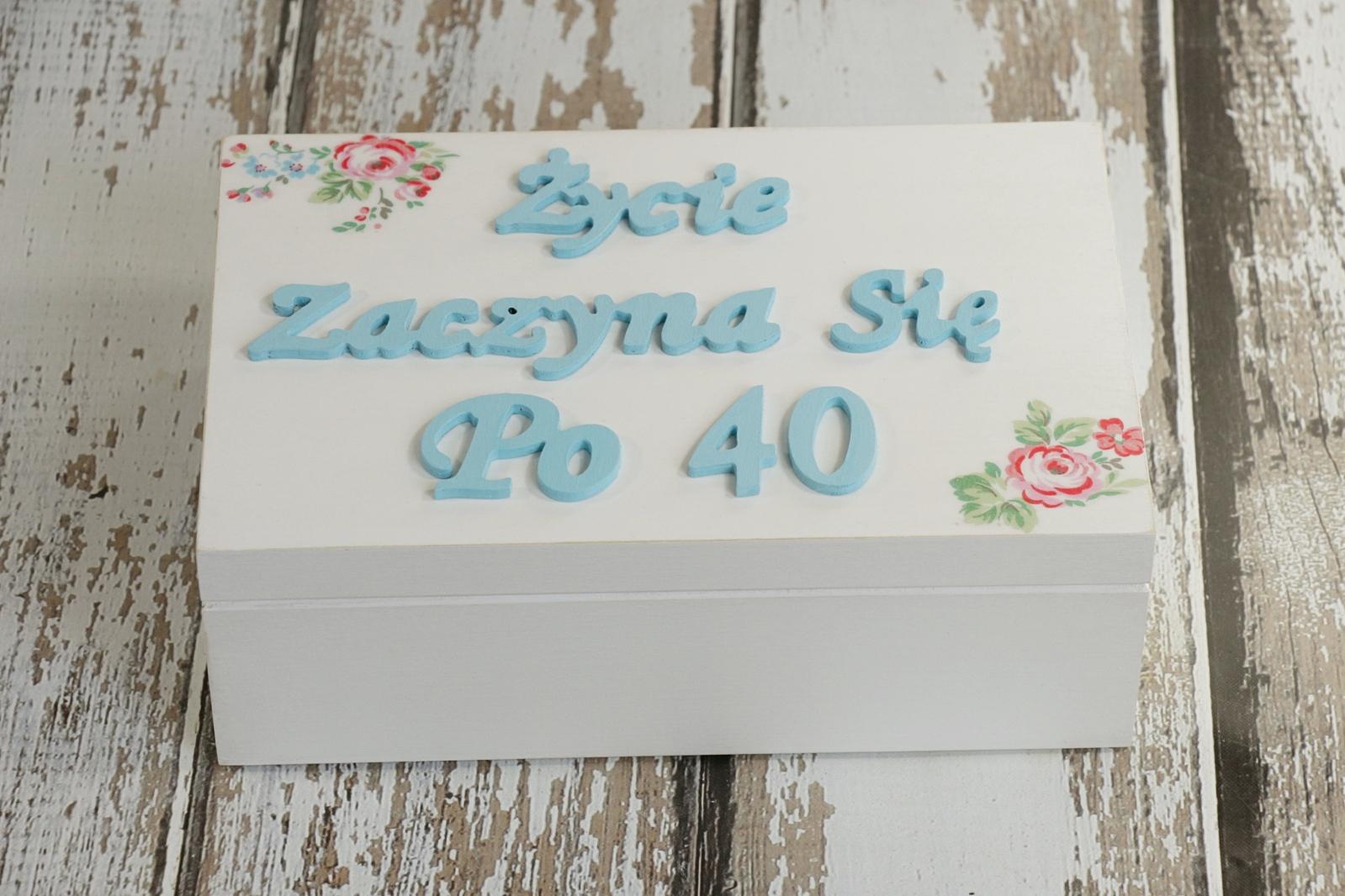 Inteligentny Pudełko urodzinowe | Handmade | zBLOGowani TC52