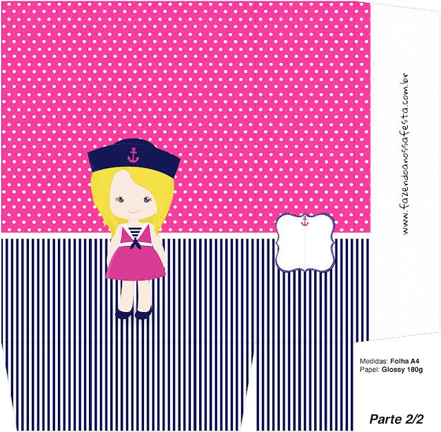 Marinerita Rubia: Cajas para Imprimir Gratis