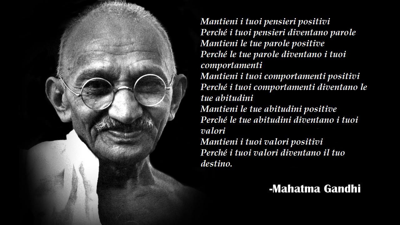 Frasi Matrimonio Gandhi.Frasi Contro Il Razzismo Di Gandhi
