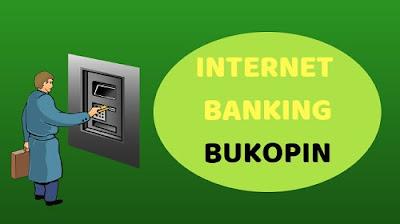Pendaftaran Internet banking Bukopin di atm