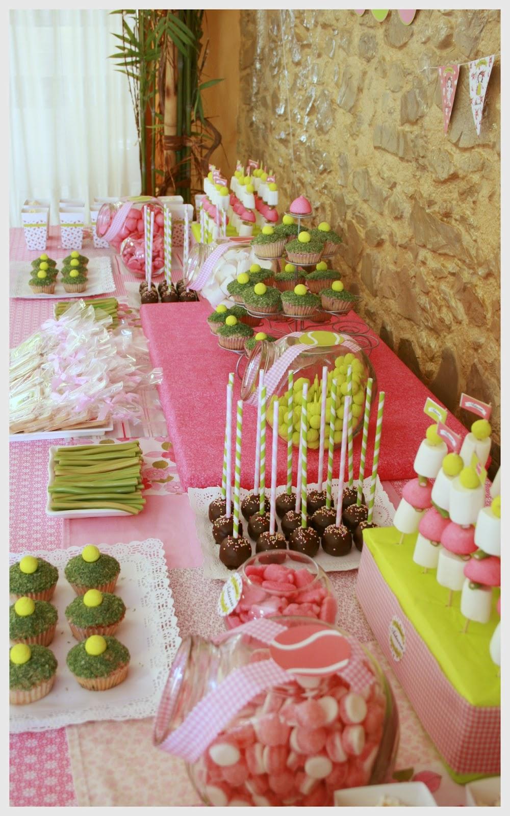 Cosas con encanto fiesta de primera comunion con candy - Fotos de mesas decoradas ...