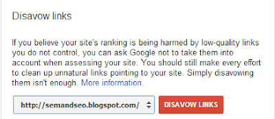 Google Disavow Links By SEMandSEONews