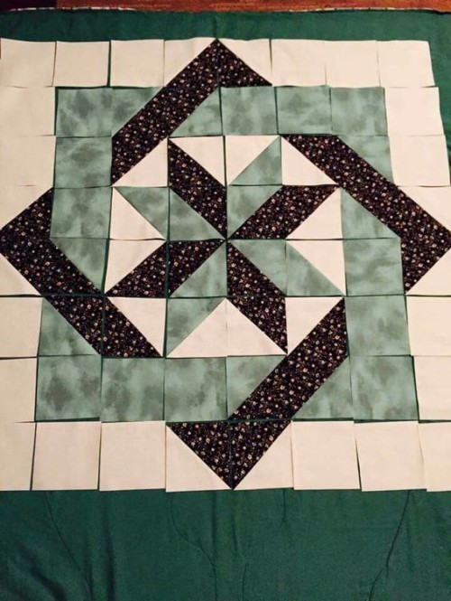 Woven Star Quilt - Free Pattern