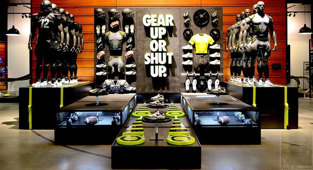 Onde ficam as lojas da Nike em Las Vegas
